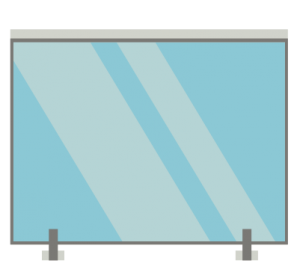 glass balustrade spigot mounted